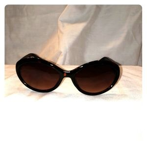 Cole Haan tortoiseshell colored cat-eye sunglasses